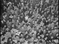 Crowd at a Benny Goodman Band concert, Oakland, California, 1940 (Source: Wikimedia Commons)