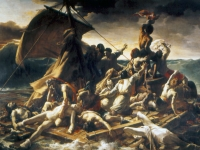 The intransigence of Captain De Chaumereys, the ultimate unethical leader, led to the wreck of the Medusa in 1816. Painting by Théodore Géricault, 1819, Musée du Louvre (Source: Wikimedia)