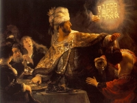 Belshazzar's Feast, Rembrandt van Rijn, c.1635-1638, National Gallery, London