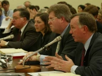 ENRON - Arthur Andersen witnesses testify at the Subcommittee on Oversight and Investigations, Committee on Energy and Commerce House of Representatives (107th Congress) hearing on January 24, 2002 (Source: Wikimedia Commons)