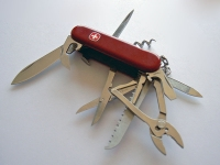 The ultimate generalist? Swiss army knife, Wenger (Source: Wikimedia Commons)
