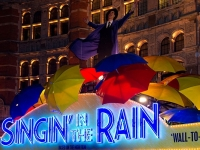 Singing in the Rain, stage production, Birmingham UK, 2012 (Source: Wikimedia Commons)