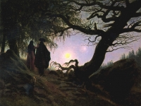 Woman and Man Contemplating the Moon, David Caspar Friedrich, c.1818-1824, Alte Nationalgalerie, Berlin (Source: Wikimedia Commons)