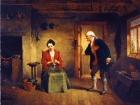 The Rejected Suitor, Francis William Edmonds(1806 – 1863)