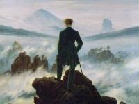 The Wanderer above the Sea of Fog, Caspar David Friedrich, 1818, Kunsthalle, Hamburg