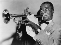 Louis Armstrong (Source: Wikimedia Commons). Armstrong and His Orchestra recorded 'Ac-Cent-Tchu-Ate the Positive' in 1945