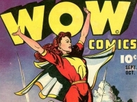 Mary Marvel, the world's mightiest girl, Marvel Comics, illustrator Jack Binder, 1941 (Source: Wikimedia Commons)