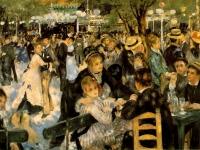 Dance at Le Moulin de la Galette, Auguste Renoir, 1876, Musée d'Orsay, Paris