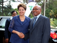 Brazillian President Dilma Rousseff and South African President Jacob Zuma, 2013. Courtesy of Brazilian Foreign Ministry