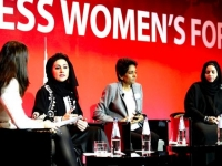 Panelists at the 2nd annual Arabian Business Women's Forum, November 2013, Dubai (Courtesy: www.ArabianBusiness.com)