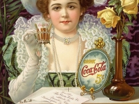 """Drink Coca-Cola 5¢"", an 1890s advertising poster (Source: Wikimedia Commons)"