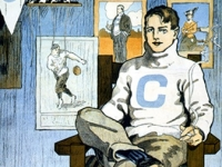 Columbia Man. A 1902 poster for Columbia University, by John E. Sheridan (Source: Wikimedia Commons)