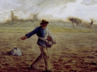 The Sower by Jean-François Millet, circa1865, Walters Art Museum, Baltimore