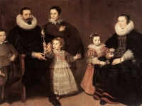 Family Portrait, Cornelis de Vos, 1631 (Source: Wikimedia Commons)