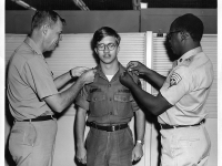 U.S. Army enlisted promotion -CONTIC Intelligence Center, Ft. Bragg, N.C. (Source: Wikimedia Commons)