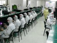 Electronics factory in Shenzhen, China, 2005 (Source: Wikimedia Commons)