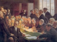 Committee of the French Art Exhibition in Copenhagen, Peder Severin Krøyer, 1888, Hirschsprung Collection, Copenhagen