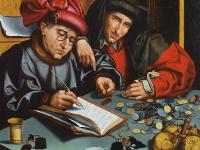 The Money Changers, Marinus van Reymerswaele, 1548 (Courtesy: Bilbao Fine Arts Museum)