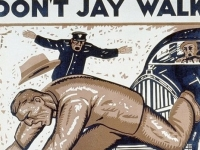 Don't Jay Walk, 1937 PSA poster, USA (Source: Wikimedia Commons)
