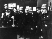 The Keystone Cops, 'In the Clutches of the Gang, 1914, directed by George Nichols and Mack Sennett (Source: Wikimedia Commons)