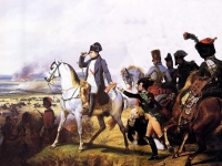 Napoleon at the Battle of Wagram 1809, Horace Vernet, 1836 (Courtesy: Palace of Versailles)