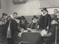 The Dutch East India Co. chartered in 1602, a steel engraving by Cool and Rennefeld, Leiden, c. 1880 (Source: Wikimedia Commons)