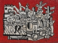 Grand Parade (mosaic) Fernand Léger, 1958, National Gallery of Victoria