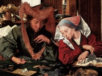 The Money Changer and His Wife, Marinus Claesz van Reymerswaele, 1539 (Courtesy: Prado Museum, Madrid)