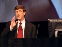 Bill Gates, Micosoft CEO, at IT Forum 2004 in Copenhagen (Source: Wikimedia Commons)