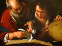 Eratosthenes Teaching in Alexandria, by Bernardo Strozzi, 1635 (Courtesy: Montreal Museum of Fine Arts)