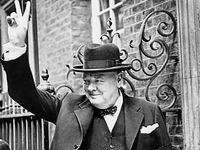 Winston Churchill, 1941 (Source: Wikimedia)