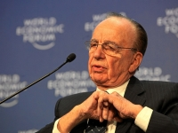 Rupert Murdoch at the World Economic Forum, 2009 (Source: Wikimedia Commons)