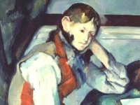 The Boy in the Red Vest (detail) Cezanne c-1890 (Courtesy: Foundation E.G. Bührle, Zurich)