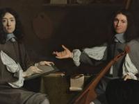 Portrait of artists Jean Baptiste de Champaigne and Nicolas de Plattemontagn (Courtesy: Museum Boijmans Van Beuningen, Rotterdam)