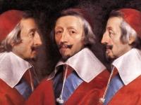 Triple Portrait of Cardinal de Richelieu, Philippe de Champaigne, 1642 (Courtesy: National Gallery, London)