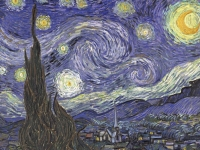 Starry Night, Vincent Van Gogh,1889 (Courtesy: Museum of Modern Art, New York)