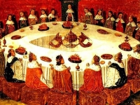 King Arthur and the Knights of the Round Table (anon. medieval)