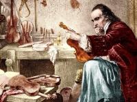 Antonio Stradivari, 1644-1737. A romanticized view, 1920s, painter unknown (Source: Wikipedia Commons)