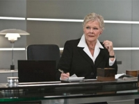 Dame Judi Dench as 'M', James Bond: Quantum of Solace, 2008, directed by Marc Forster, produced by Eon Productions, Sony/MGM