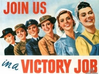 Australian Recruitment Poster, World War 2 (Source: Wikimedia)