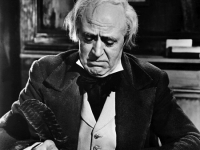 Alistair Sim as Scrooge, A Christmas Carol, 1951, United Artists