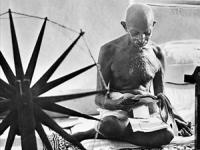 Mahatma Gandhi. Photo 1947 Margaret Bourke-White, LIFE Magazine (Source: Wikimedia)
