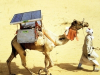 Solar-powered Camel Fridge System, Nomadic Communities Trust (Source: Wikimedia)