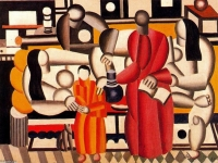 Women in an Interior, Fernand Léger, 1881 - 1955