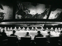 Dr. Stangelove', directed by Stanley Kubrick, 1964, distributed by Columbia Pictures (Source: Wikimedia Commons)