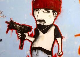 Graffiti from Tolosa, Spain, 2015 (Source: Wikimedia Commons)