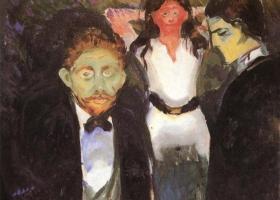 Envy, Edvard Munch, 1907