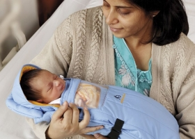 Embrace infant warmer used to prevent hypothermia in newborns (Photo courtesy of http://embraceglobal.org)