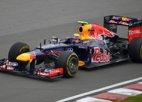 Mark Webber's Red Bull Formula One car, Canadian Grand Prix, 2012 (Source: Wikimedia Commons)