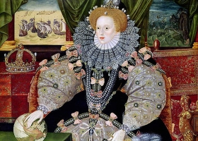 Elizabeth I of England, the Armada Portrait, George Gower, 1588 (Source: Wikimedia Commons)